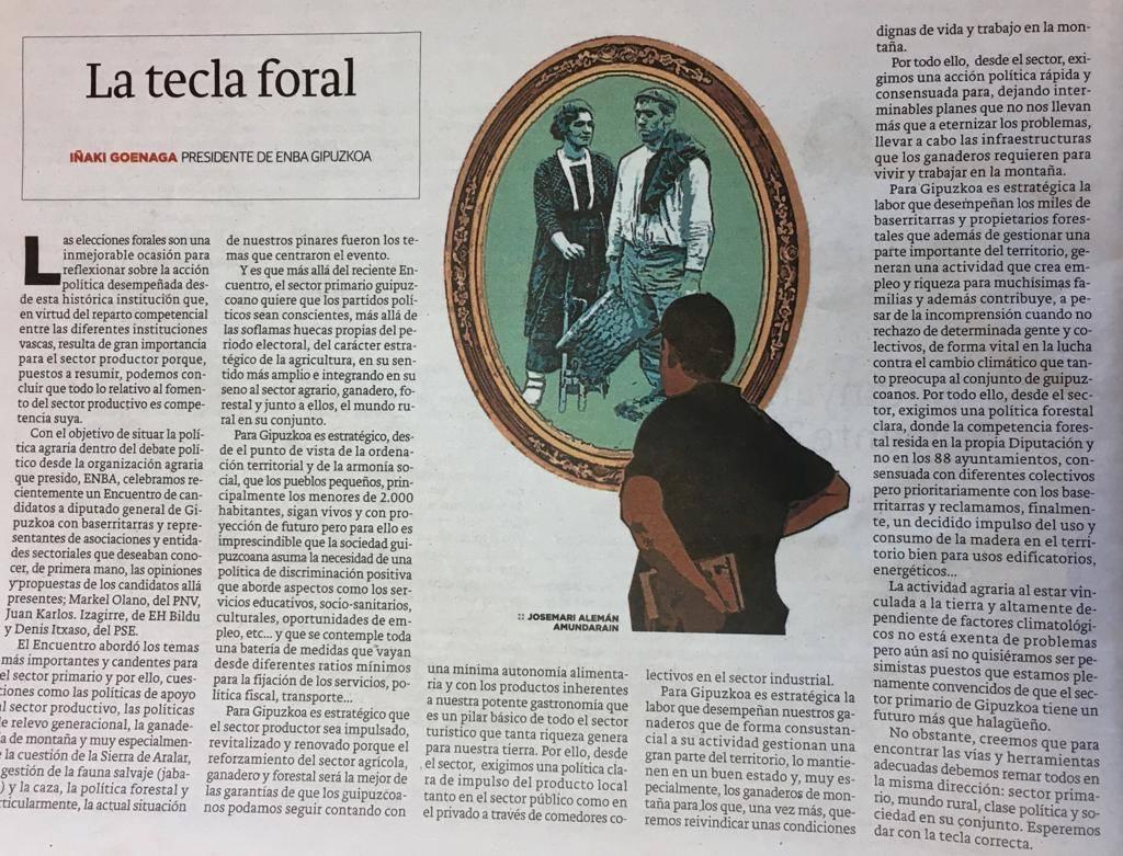 LA TECLA FORAL - Iñaki Goenaga