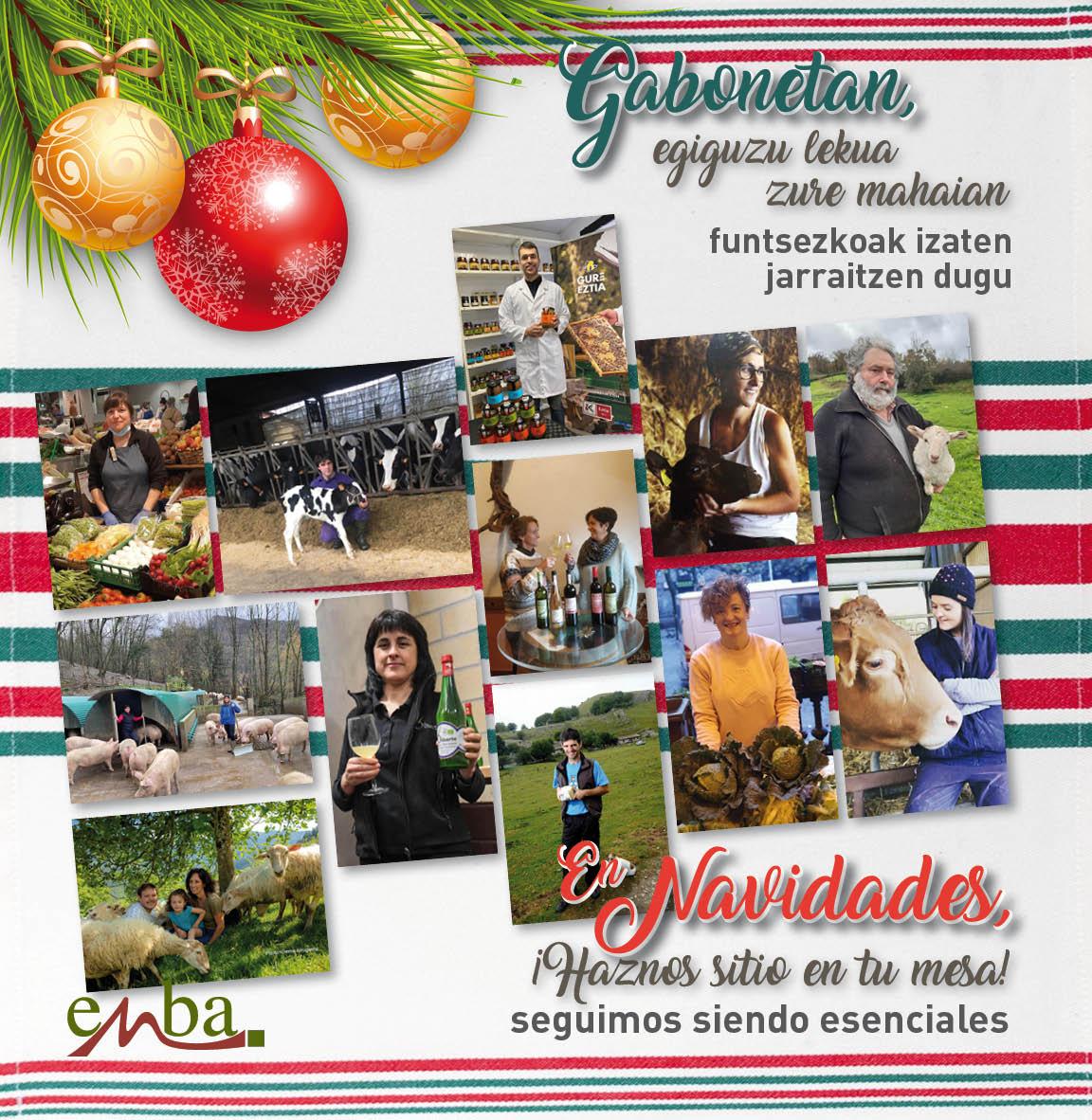 """ENBA presenta la campaña """"En NAVIDADES, ¡HAZNOS SITIO EN TU MESA!"""""""